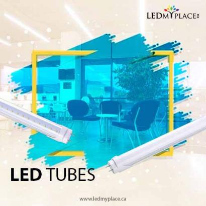 Install LED Tubes and Saves up to 75% on energy consumption, edmonton